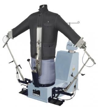 SIDI MONDIAL M 781 Universalfinisher eingebauter Dampferzeuger mit Ärmelspannern